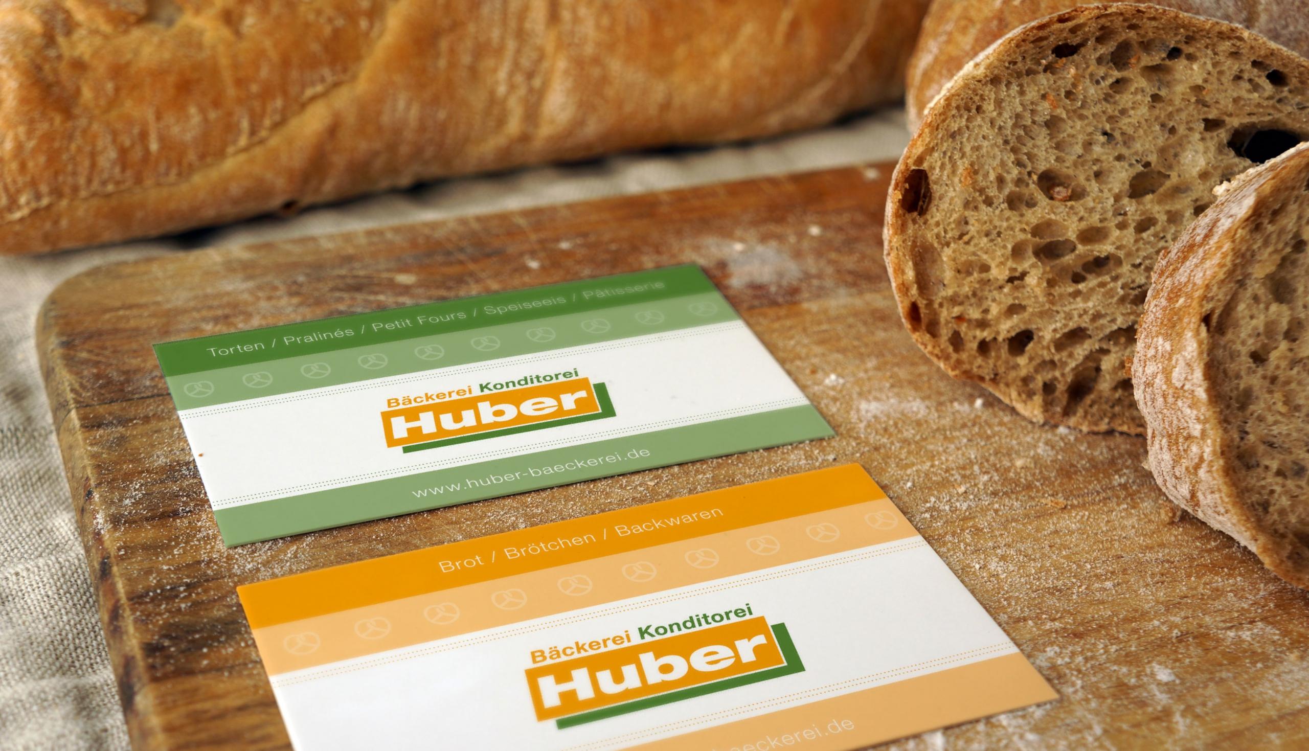 Grafikdesign für die Bäckerei Huber – von stilvoll°