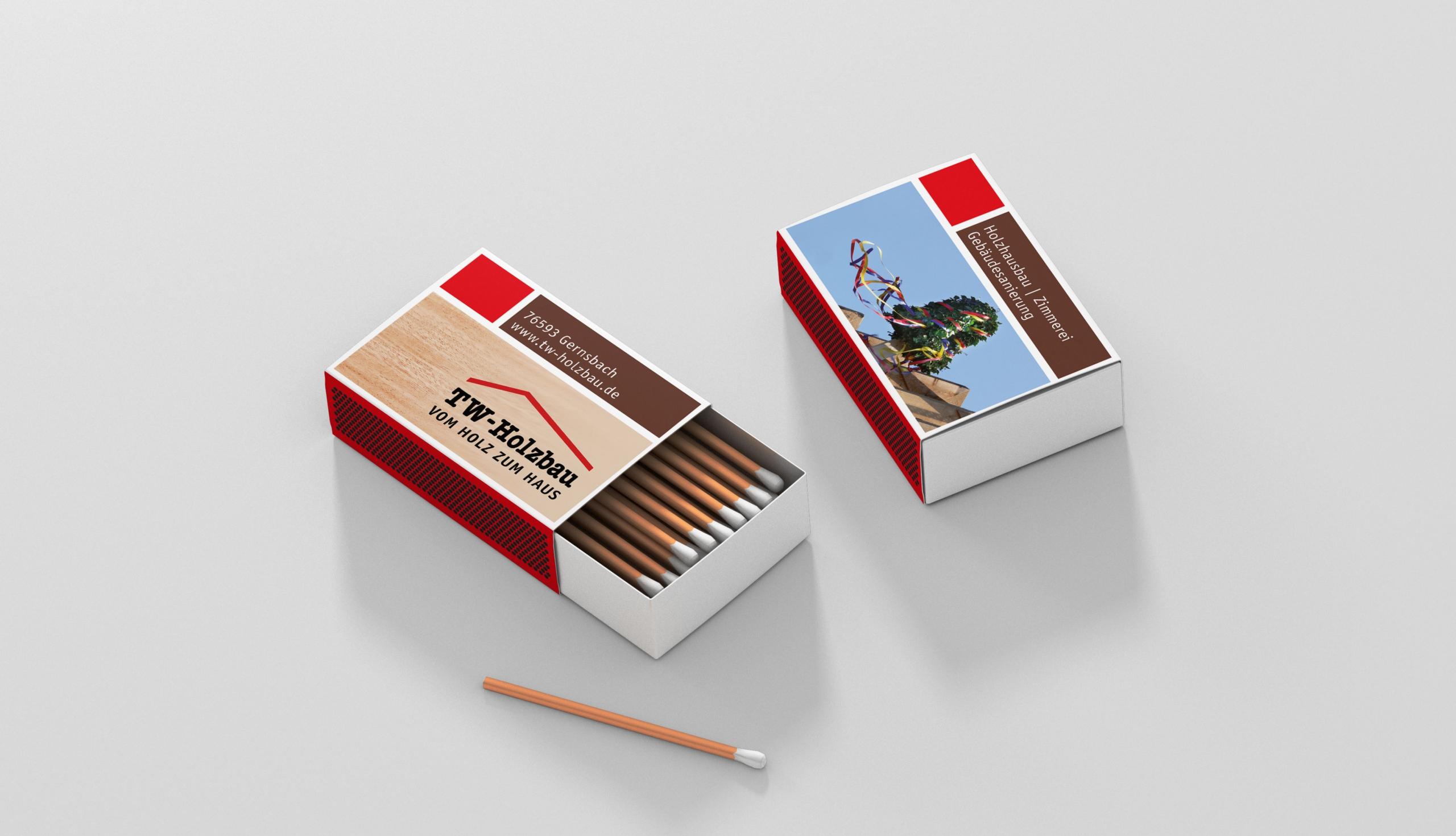 Redesign von Logo und Identity für TW Holzbau – von stilvoll°